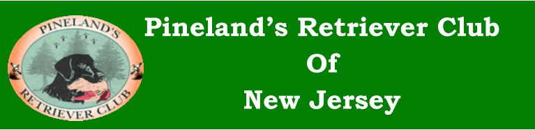 Pineland's Retriever Club Of New Jersey